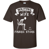 Waiting at the Fabric Store Men's and Unisex T-Shirts - Crafter4Life - 4