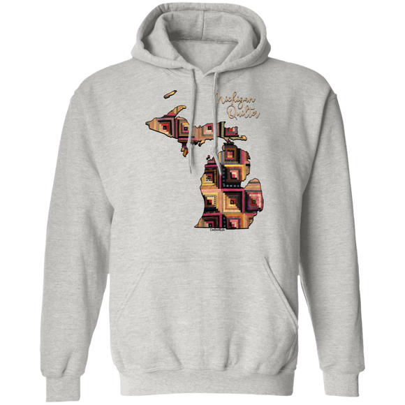 Michigan Quilter 2 Pullover Hoodie