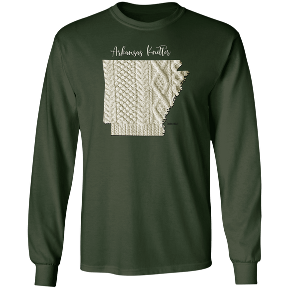 Arkansas Knitter LS Ultra Cotton T-Shirt