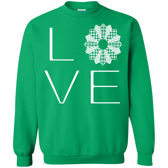 LOVE Quilting Crewneck Sweatshirts - Crafter4Life - 1
