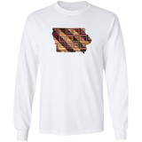 Iowa Quilter LS Ultra Cotton T-Shirt