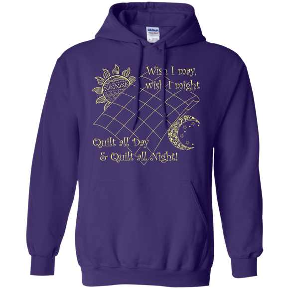Wish I May Quilt Pullover Hoodies - Crafter4Life - 1