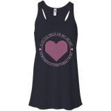 Piece of My Heart (Knit) Flowy Racerback Tank