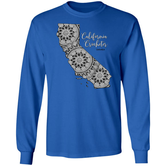 California Crocheter LS Ultra Cotton T-Shirt