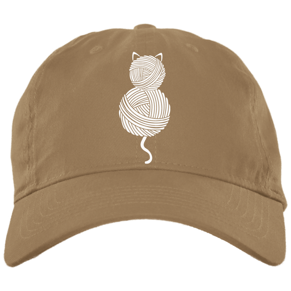 Yarn Kitty Brushed Twill Unstructured Dad Cap