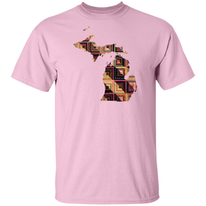 Michigan Quilter Cotton T-Shirt