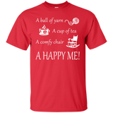A Happy Me Custom Ultra Cotton T-Shirt - Crafter4Life - 10