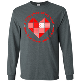 Piece of My Heart (Quilt) LS Ultra Cotton T-Shirt