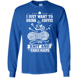 Coffee-Knit-Nap Long Sleeve Ultra Cotton T-Shirt - Crafter4Life - 10