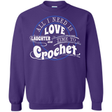 Time to Crochet Crewneck Sweatshirts - Crafter4Life - 8