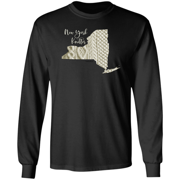 New York Knitter LS Ultra Cotton T-Shirt