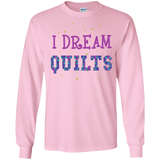 I Dream Quilts Long Sleeve Ultra Cotton T-Shirt - Crafter4Life - 9