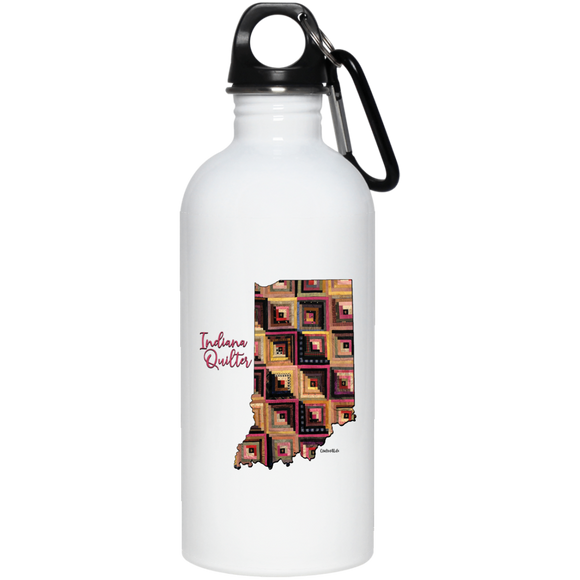 Indiana Quilter Stainless Steel Water Bottle