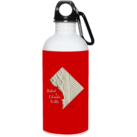 District of Columbia Knitter Stainless Steel Water Bottle