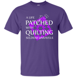 Quilting Seldom Unravels Ultra Cotton T-Shirt