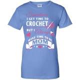 Crochet Mom Ladies Custom 100% Cotton T-Shirt - Crafter4Life - 6