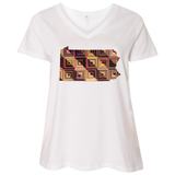 Pennsylvania Quilter Curvy Full-Figured T-Shirts