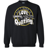 Time for Quilting Crewneck Sweatshirts - Crafter4Life - 2