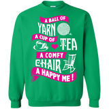 A Ball of Yarn, A Happy Me Crewneck Sweatshirts - Crafter4Life - 9