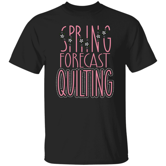 Spring Forecast Quilting T-Shirt