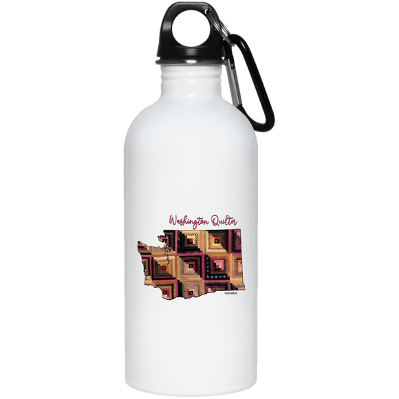 Washington Quilter Stainless Steel Water Bottle