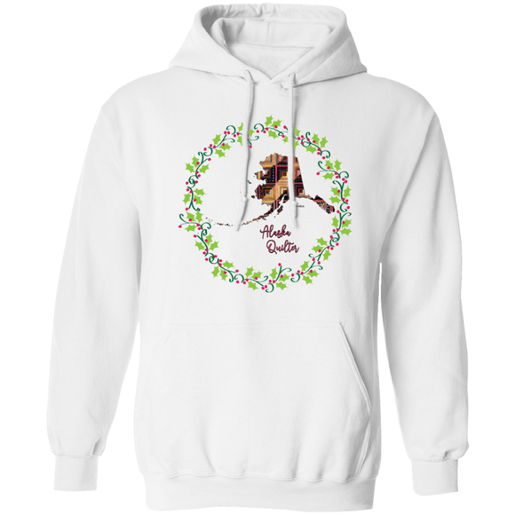 Alaska Quilter Christmas Pullover Hoodie