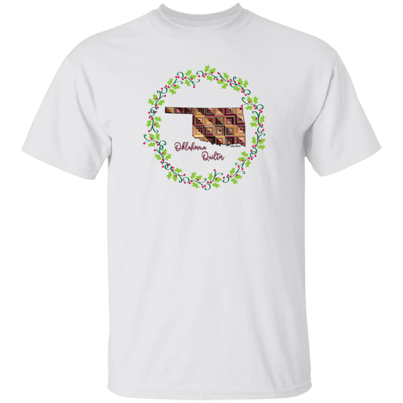 Oklahoma Quilter Christmas T-Shirt