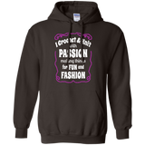 I Crochet & Knit with Passion Pullover Hoodie