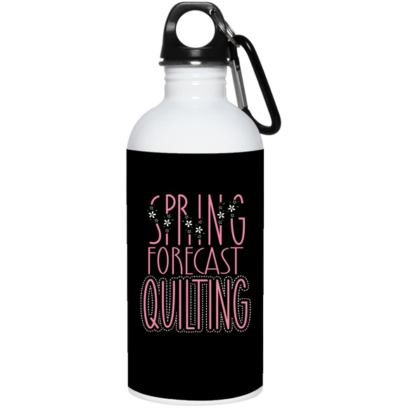Spring Forecast Quilting 20 oz. Stainless Steel Water Bottle