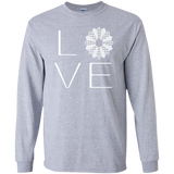 LOVE Quilting LS Ultra Cotton T-shirt - Crafter4Life - 2