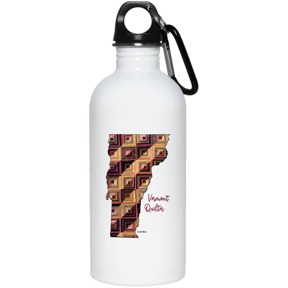 Vermont Quilter Stainless Steel Water Bottle