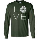 LOVE Quilting LS Ultra Cotton T-shirt - Crafter4Life - 5