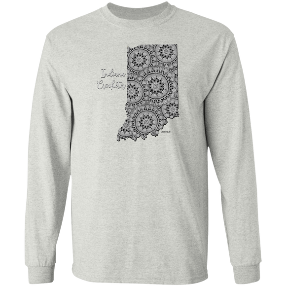Indiana Crocheter LS Ultra Cotton T-Shirt