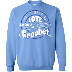 Time to Crochet Crewneck Sweatshirts - Crafter4Life - 1