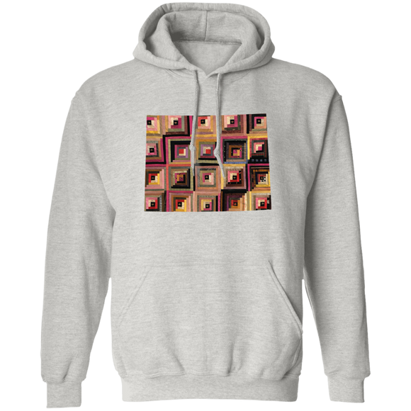 Wyoming Quilter Pullover Hoodie