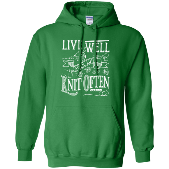 Knit Often Pullover Hoodie