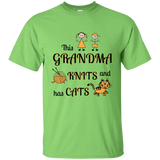 Grandma-Knit-Cats Ultra Cotton T-Shirt