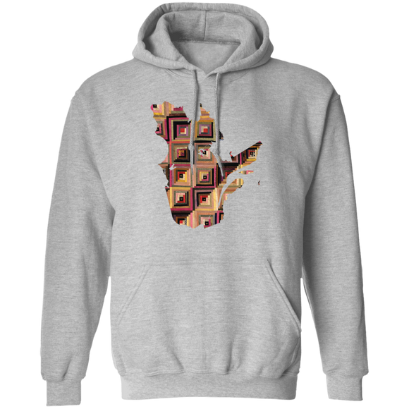 Quebec Quilter Pullover Hoodie