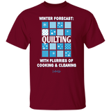 Winter Forecast Quilting Flurries T-Shirt