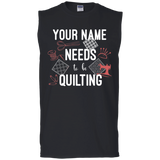 Needs to be Quilting - Personalized Unisex T-Shirts