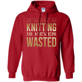 Time Spent Knitting Pullover Hoodies - Crafter4Life - 1