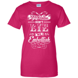 Scrapbookers Don't Lie Ladies Custom 100% Cotton T-Shirt - Crafter4Life - 6
