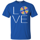 LOVE Quilting (Primary Colors) Custom Ultra Cotton T-Shirt - Crafter4Life - 10