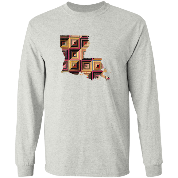 Louisiana Quilter LS Ultra Cotton T-Shirt