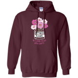 Happiness Blooms with Crafts Pullover Hoodie 8 oz - Crafter4Life - 6