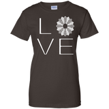 LOVE Quilting Ladies Custom 100% Cotton T-Shirt - Crafter4Life - 4