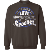 Time to Crochet Crewneck Sweatshirts - Crafter4Life - 6