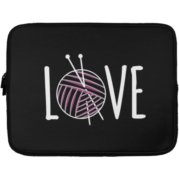 Knitting LOVE Laptop Sleeves