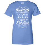 Scrapbookers Don't Lie Ladies Custom 100% Cotton T-Shirt - Crafter4Life - 7