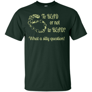 To Bead or Not to Bead Men's and Unisex T-Shirts - Crafter4Life - 1
